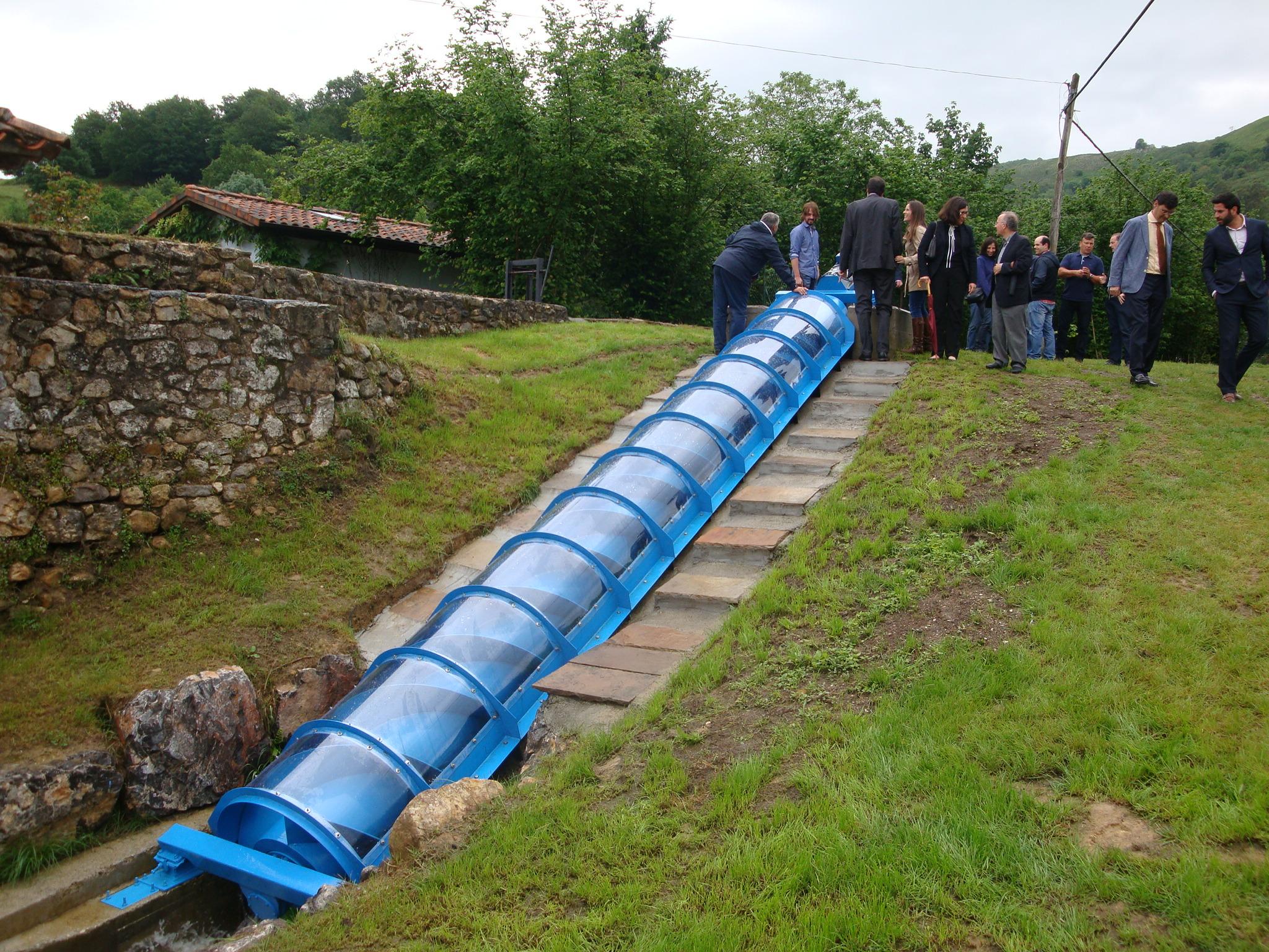 Primer resultado comercial del proyecto Hidrotor