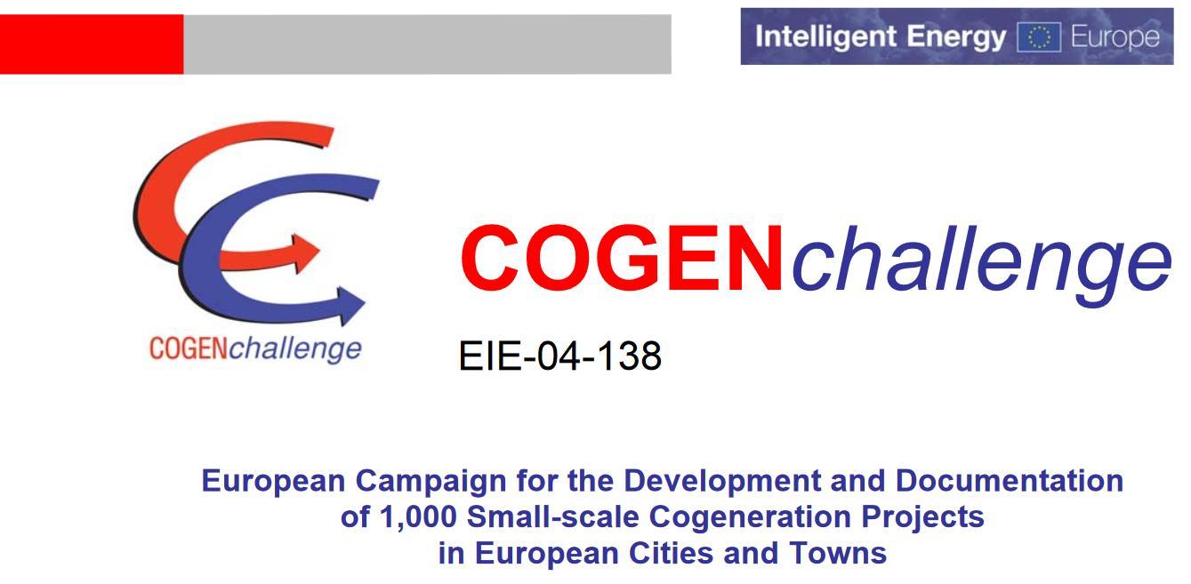 COGEN challenge