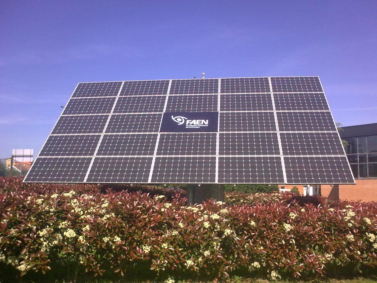 Ya disponibles los Datos de la Instalación Solar Fotovoltaica del Parque Tecnológico de Asturias. Junio 2017