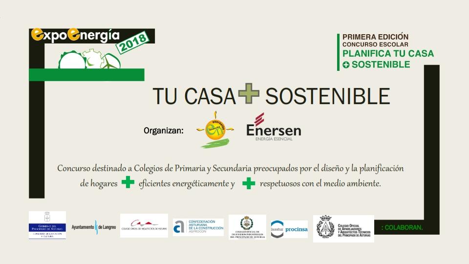 """I Concurso """"Planifica tu casa + sostenible"""""""