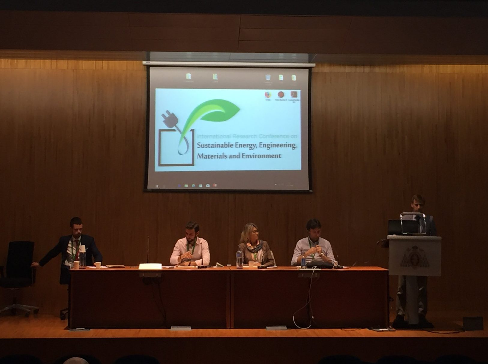 FAEN participó en el II Congreso internacional de energía sostenible, ingeniería, materiales y medio ambiente