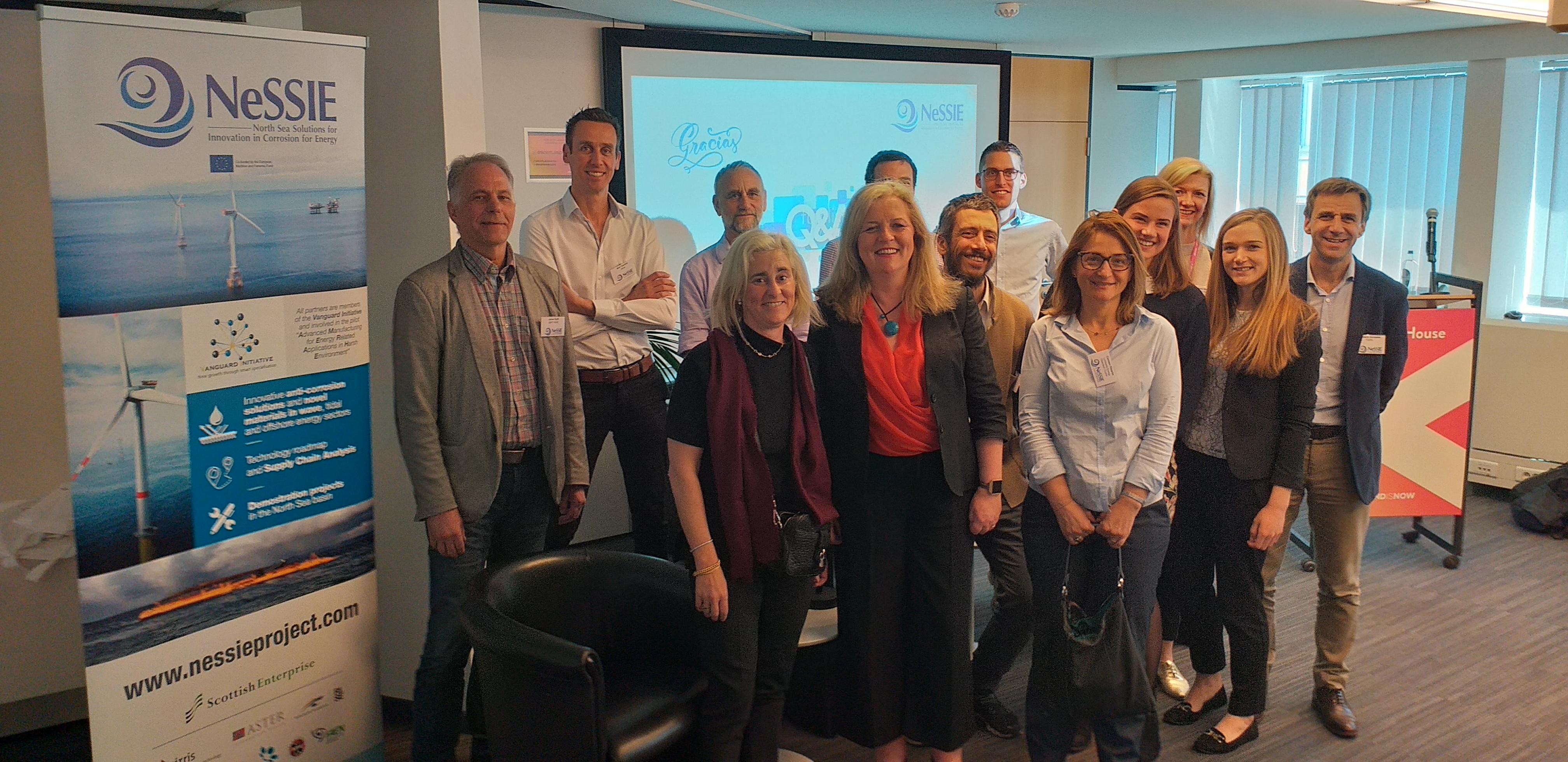 Reunión y conferencia final NeSSIE y reunión de ADMA Energy (Vanguard Initiative)