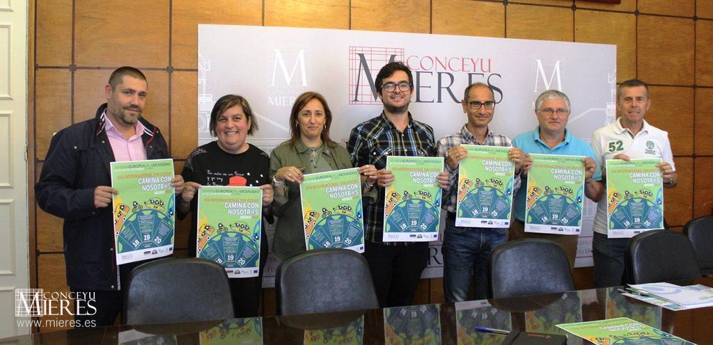 FAEN colabora con el Ayuntamiento de Mieres en las actividades de la Semana Europea de la Movilidad 2019