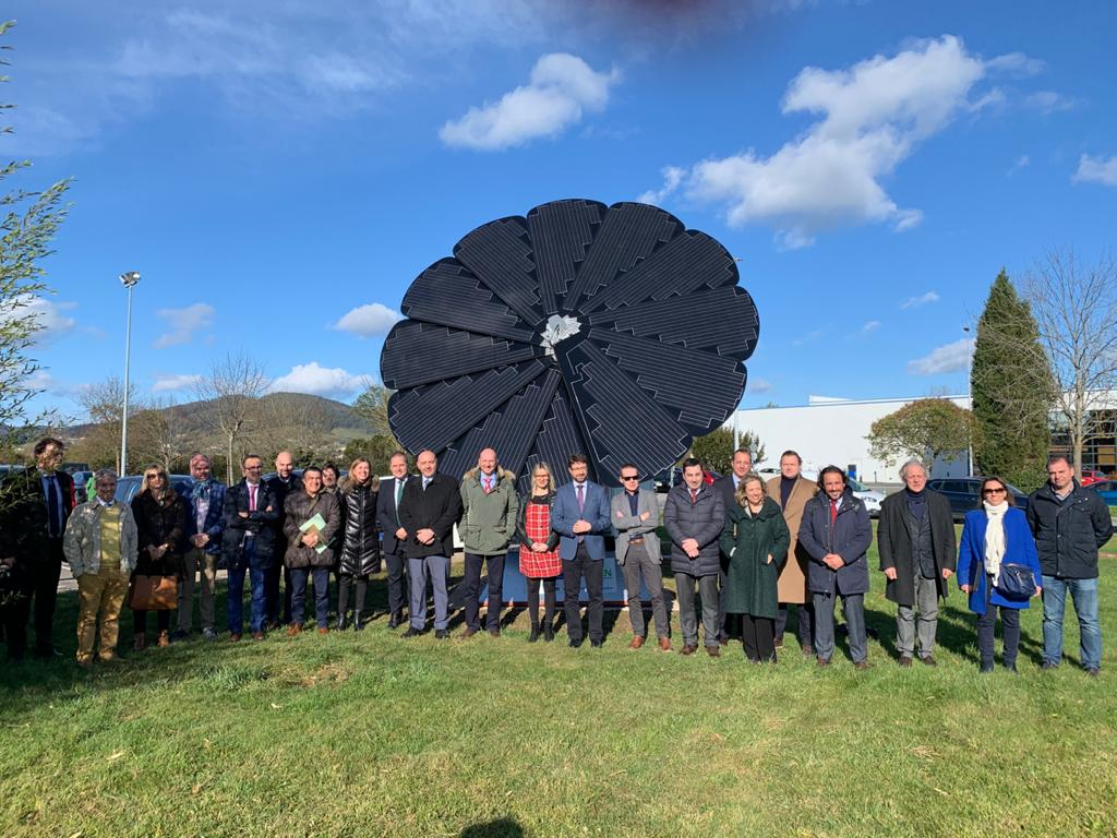 Inauguración del punto de recarga ESVA y Sesión de trabajo: Los ayuntamientos ante la movilidad eléctrica