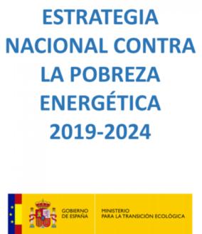 Estrategia Nacional contra la Pobreza Energética 2019-2024