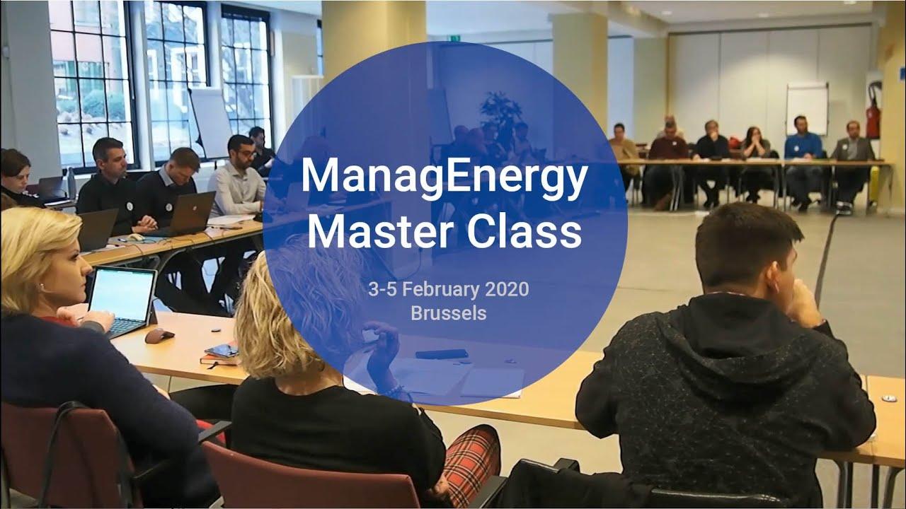 ManagEnergy Master Class