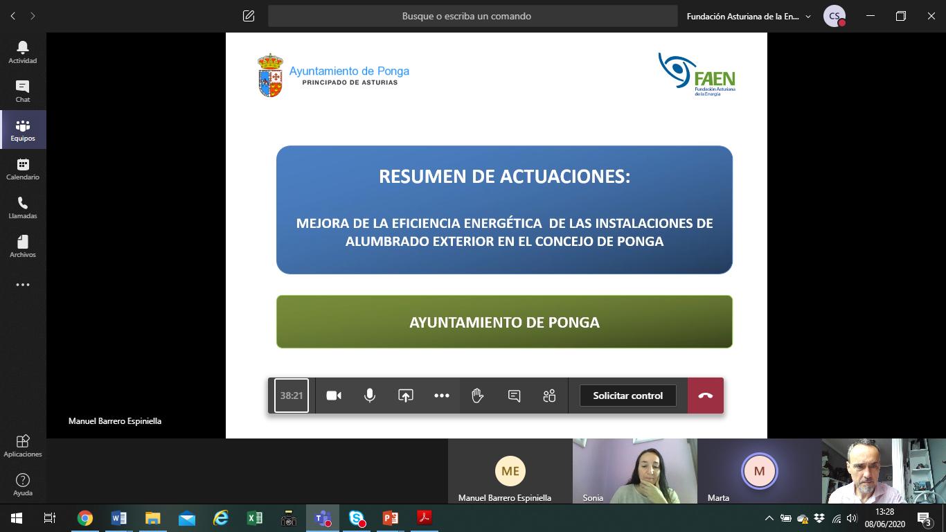 Reunión con el Ayuntamiento de Ponga por el Plan de Acción de Clima y Energía Sostenible (PACES)