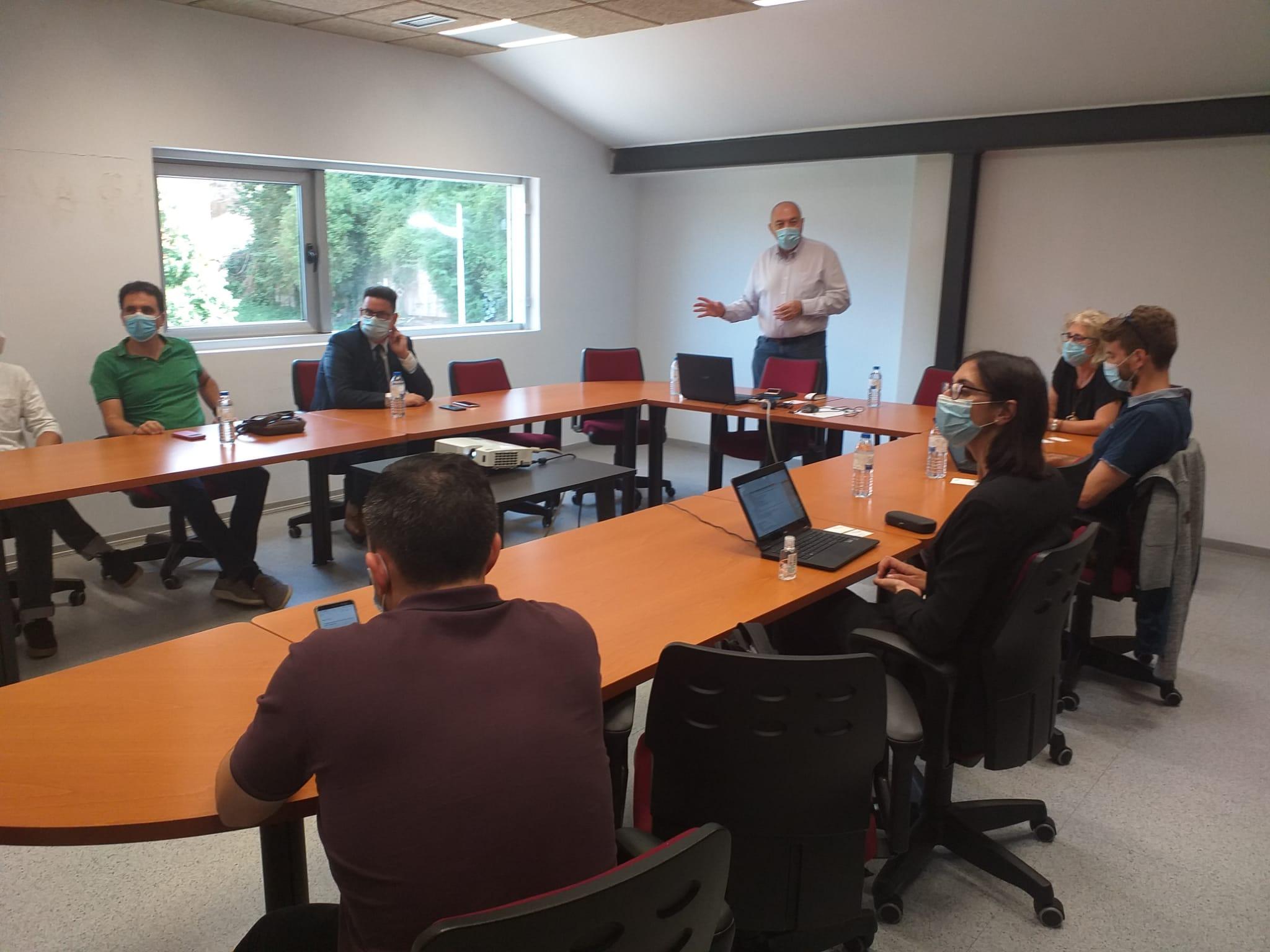 Visita a FAEN de representantes del Centro Común de Investigación (JRC)