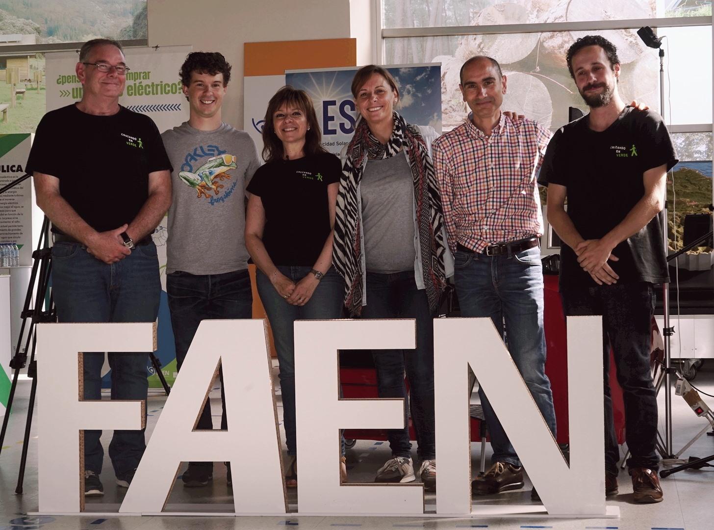 El programa «Cruzando en Verde» en las instalaciones de FAEN