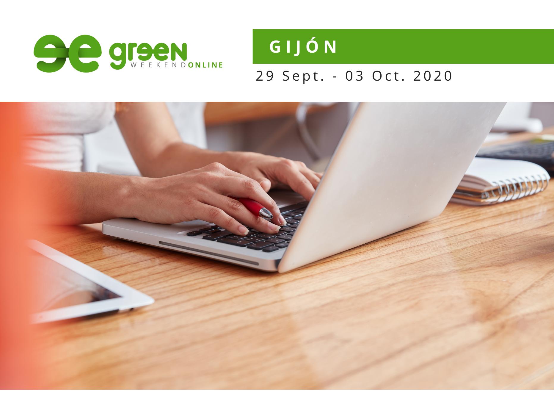 Llega la I Edición de Greenweekend online a Gijón