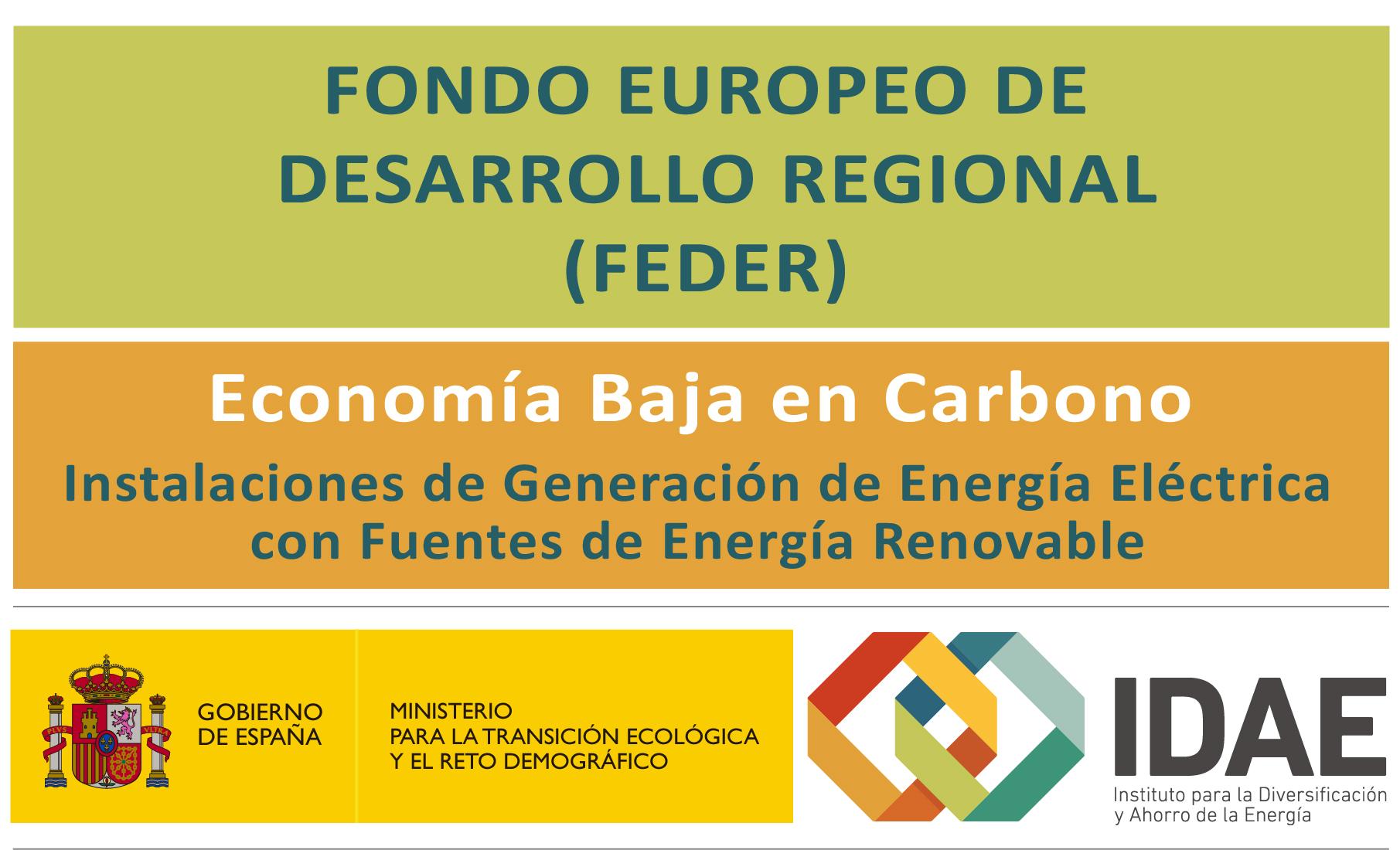 Primera convocatoria de ayudas a la inversión en instalaciones de generación de energía eléctrica con fuentes de energía renovable en la Comunidad Autónoma del Principado de Asturias cofinanciadas con Fondos de la Unión Europea.