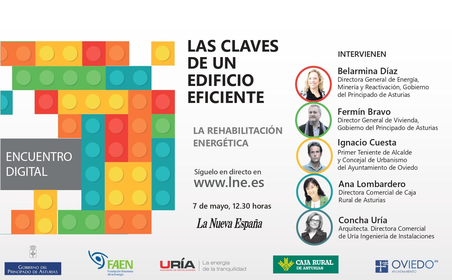 Encuentro digital La Nueva España «Las claves de un edificio eficiente: La Rehabilitación Energética»