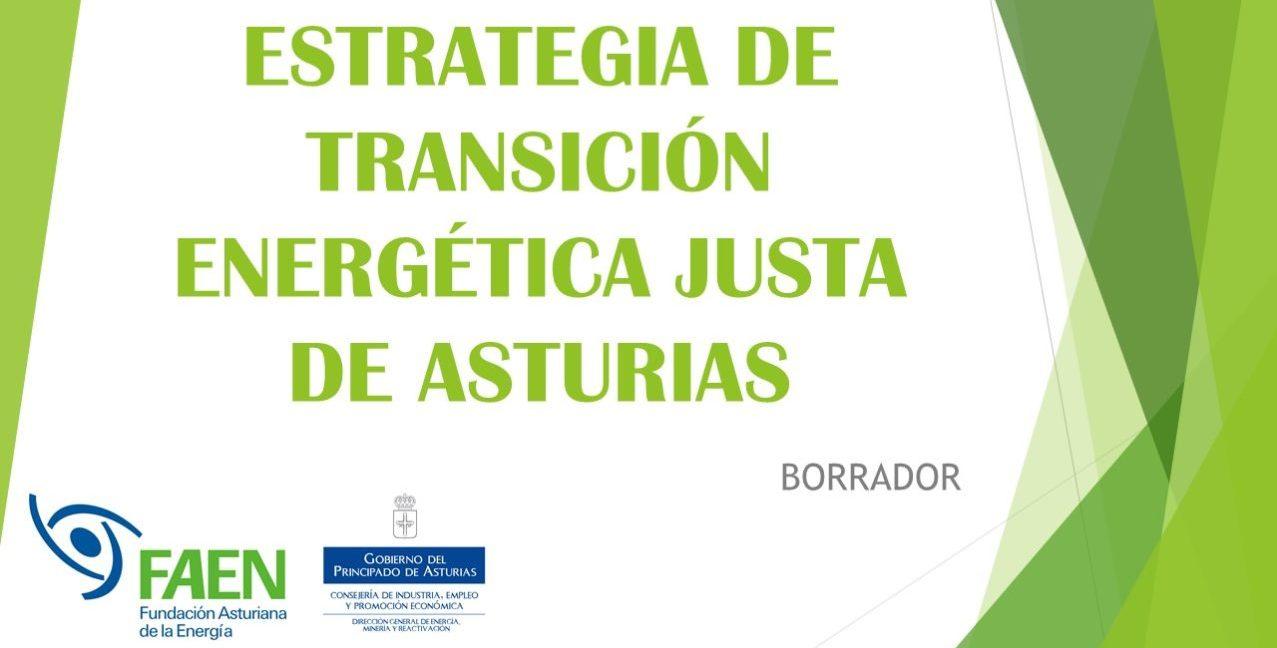 Estrategia de Transición Energética Justa en Asturias